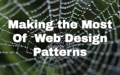 Making the Most of Website Design Patterns